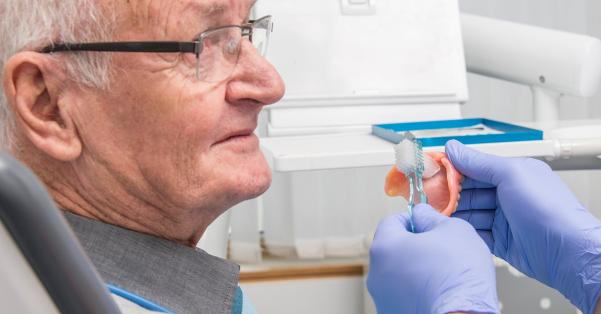 Taking care of removable dentures - a challenge