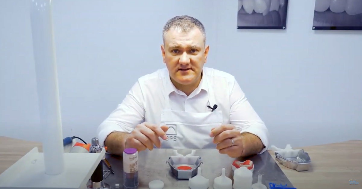 Efficient denture production with Ivobase Injector