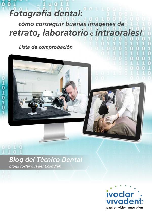 Fotografía dental: retrato, laboratorio e intraorales
