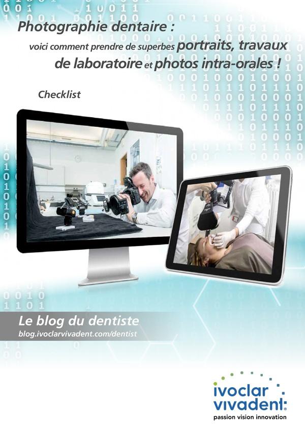 Photographie dentaire : portraits, travaux de laboratoire et photos intra-orales